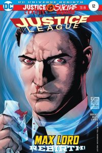 Justice league volume three issue 12