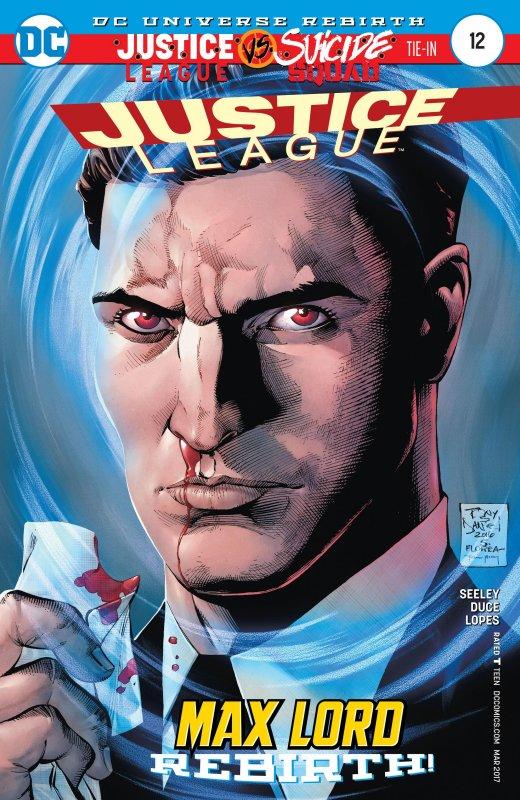 Justice league volume three issue 12