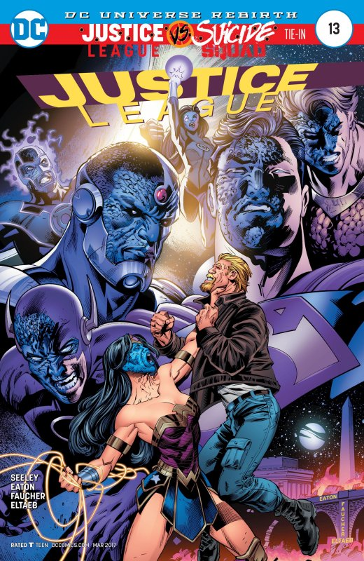 Justice League volume three issue 13