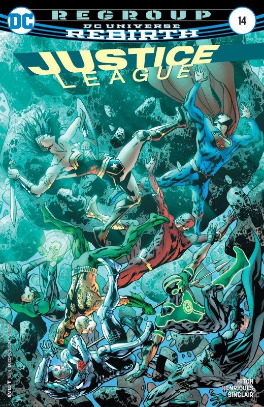 Justice League volume three issue 14