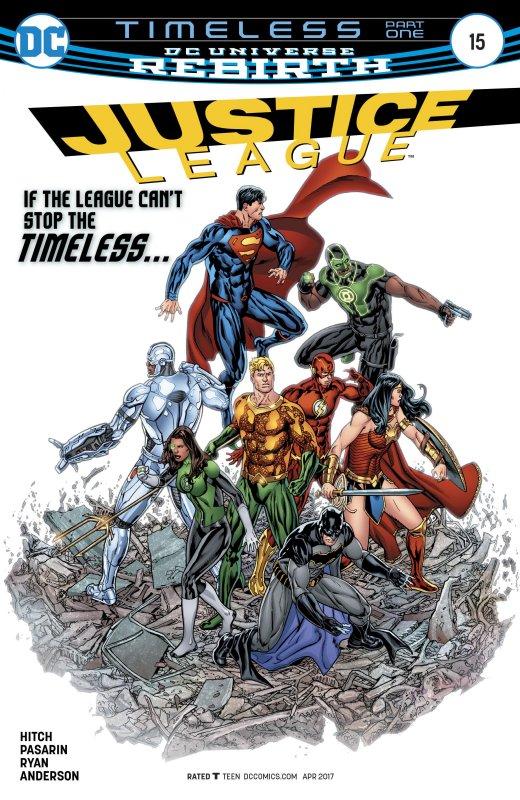 Justice League volume three issue 15