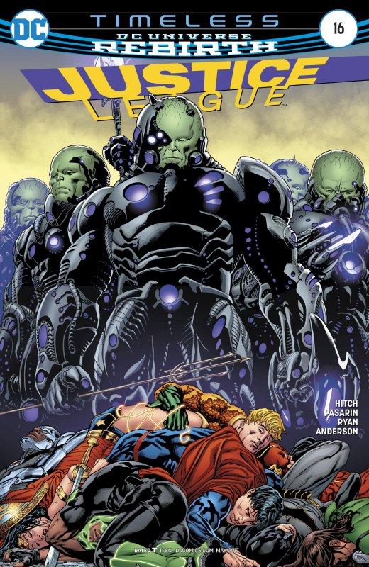 Justice League volume three issue 16