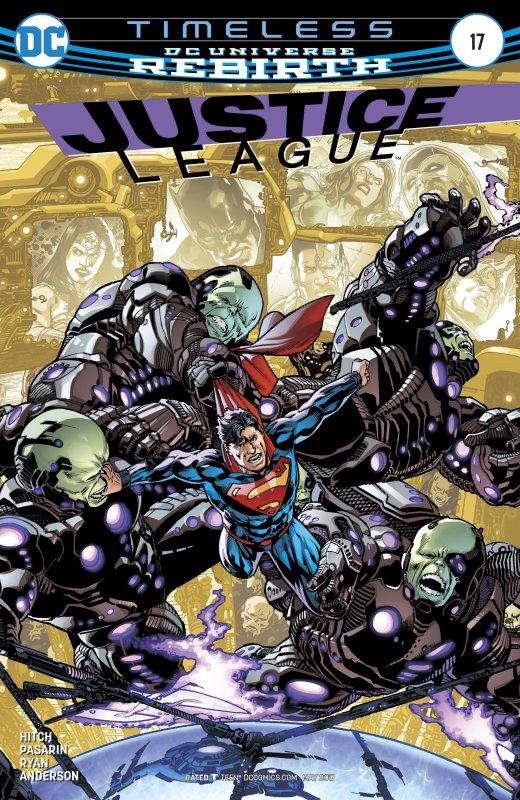 Justice League volume three issue 17