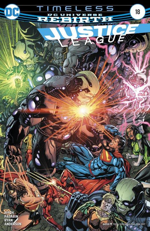 Justice League volume three issue 18