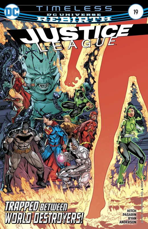 Justice League volume three issue 19