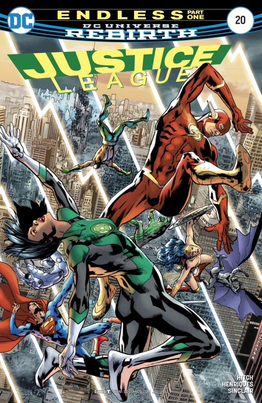 Justice League volume three issue 20