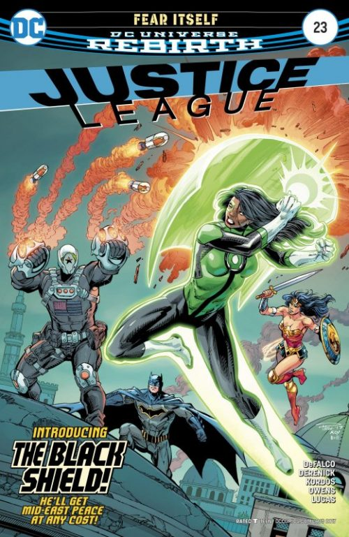 Justice League Volume Three issue 23