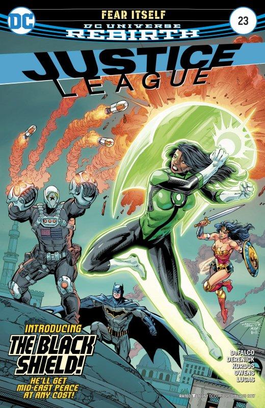 Justice League Volume Three issue 23
