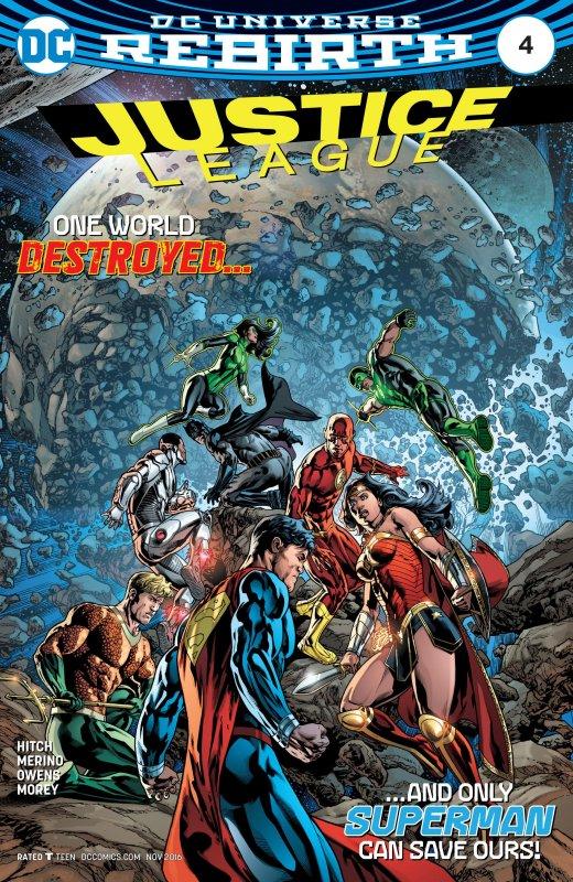 Justice League volume three issue 4