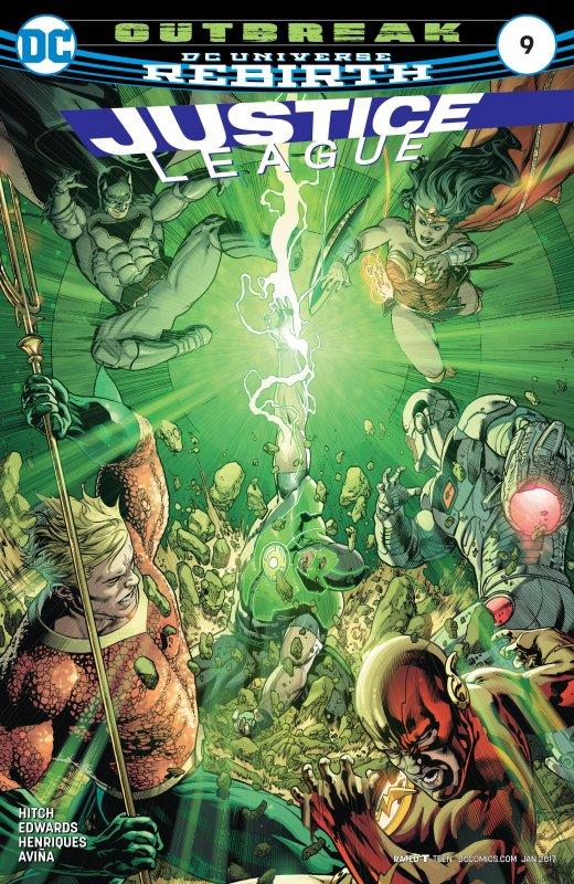 Justice League volume three issue 9