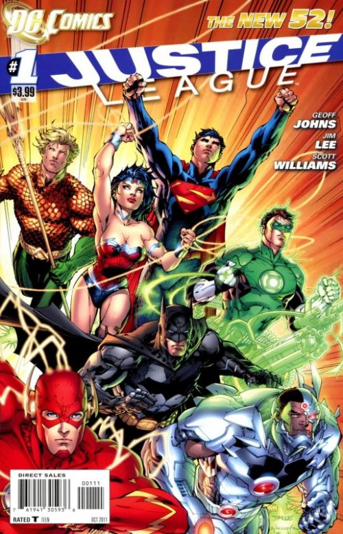 Justice League Volume One issue 1