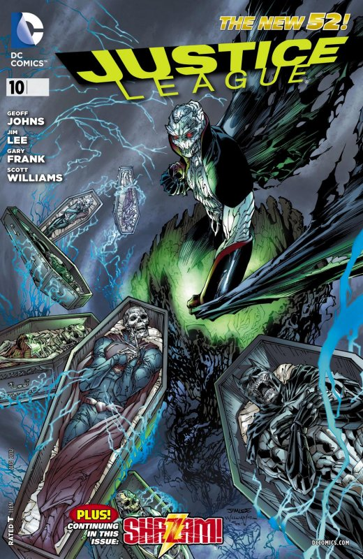 Justice League volume two issue 10