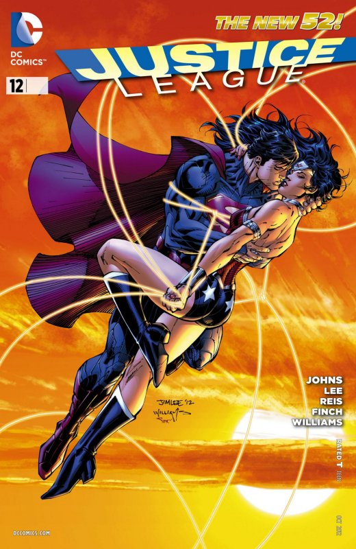 Justice League volume two issue 12