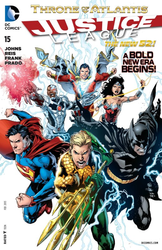 Justice League volume two issue 15
