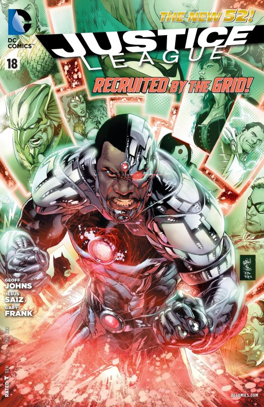 Justice League volume two issue 18