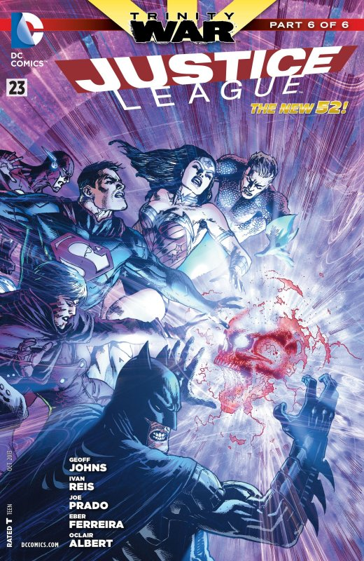 Justice League volume two issue 23
