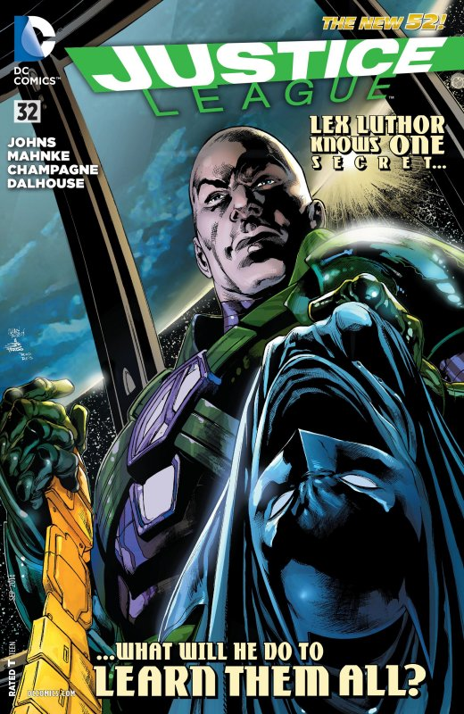 Justice League volume two issue 32
