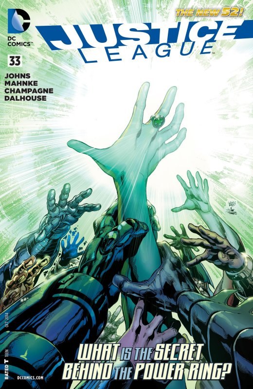 Justice League volume two issue 33