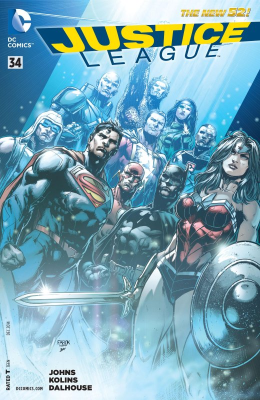 Justice League volume two issue 34