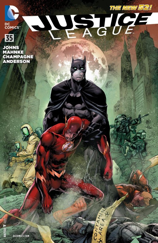 Justice League volume two issue 35