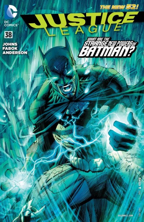 Justice League volume two issue 38
