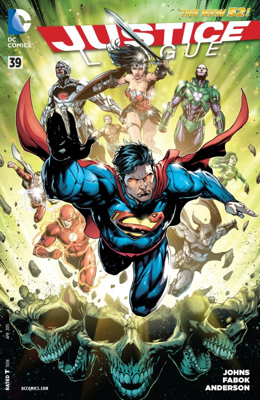 Justice League volume two issue 39
