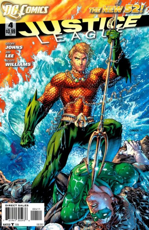 Justice League volume two issue 4