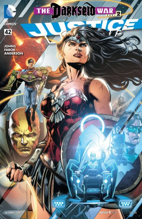 Justice League volume two issue 42