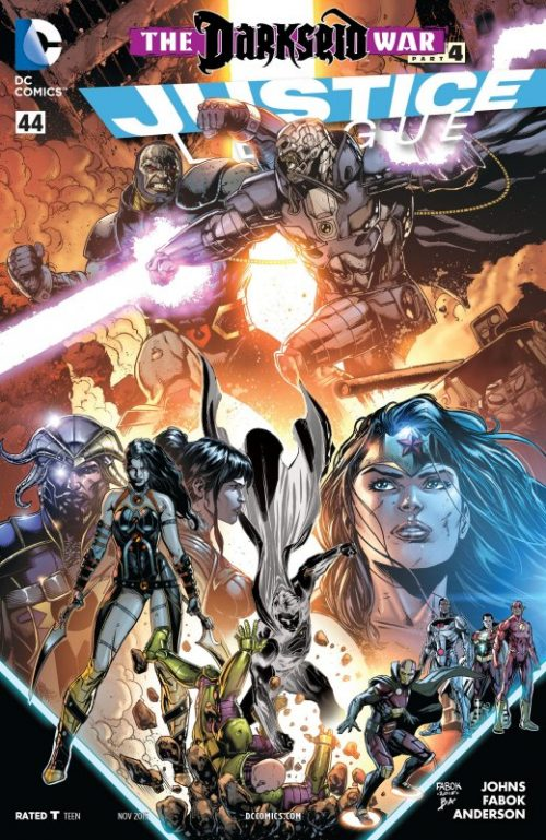 Justice League volume two issue 44