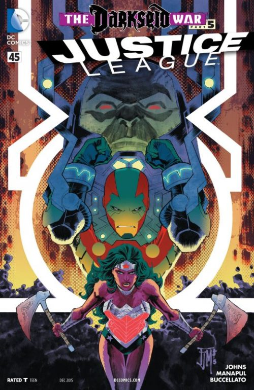Justice League volume two issue 45