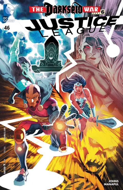 Justice League volume two issue 46