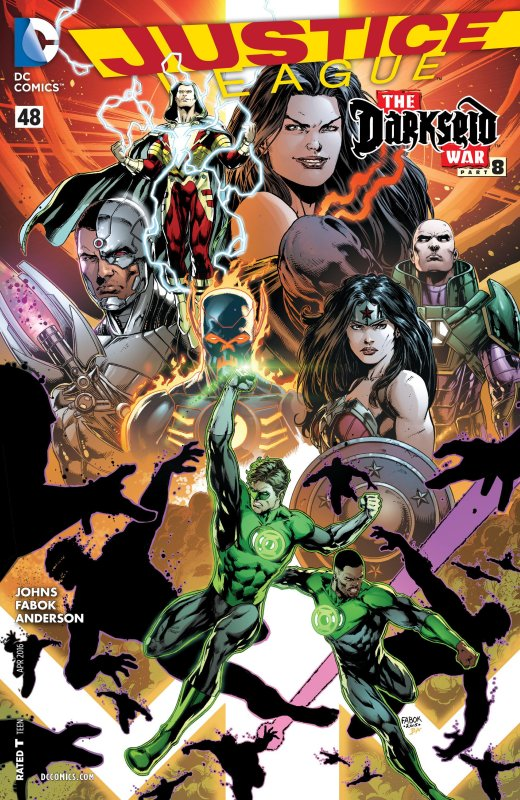 Justice League volume two issue 48