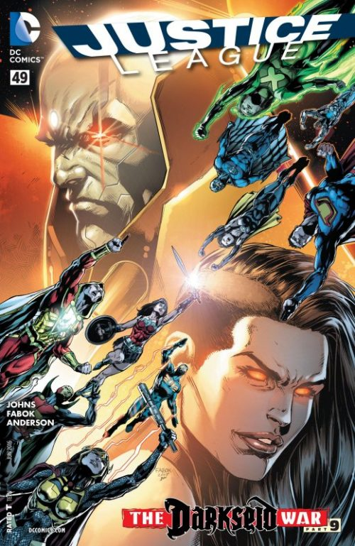 Justice League volume two issue 49