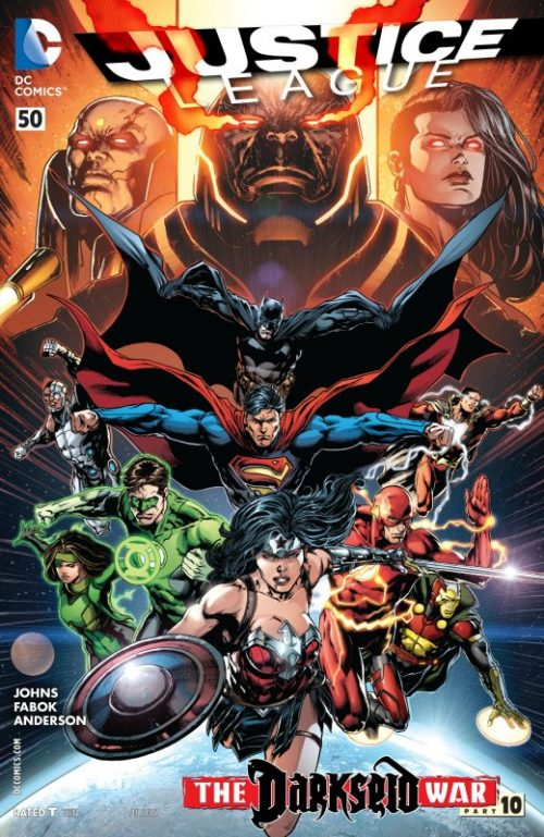 Justice League volume two issue 50