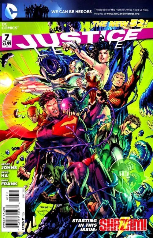 Justice League volume two issue 7