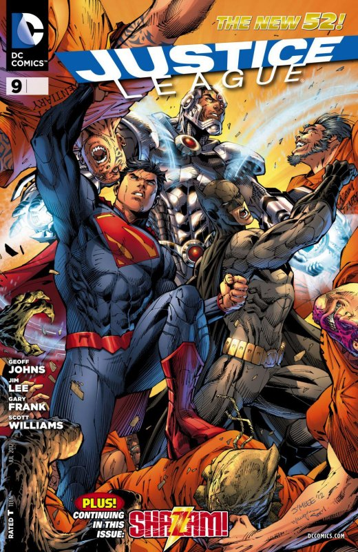Justice League volume two issue 9