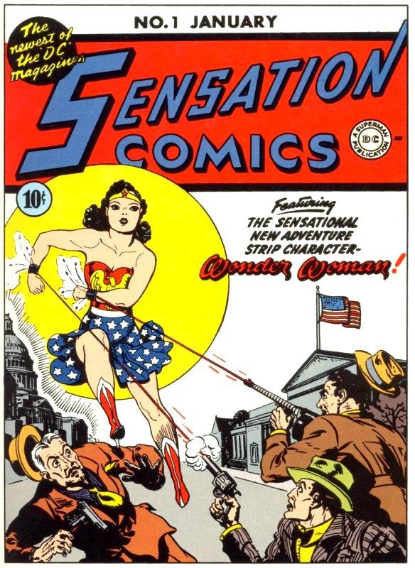Sensation Comics Volume One Issue 1
