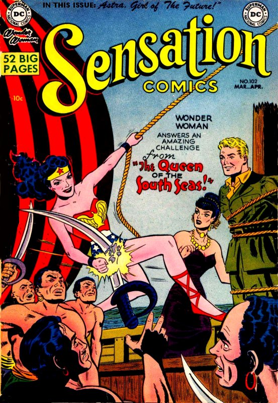 Sensation Comics Volume One issue 102