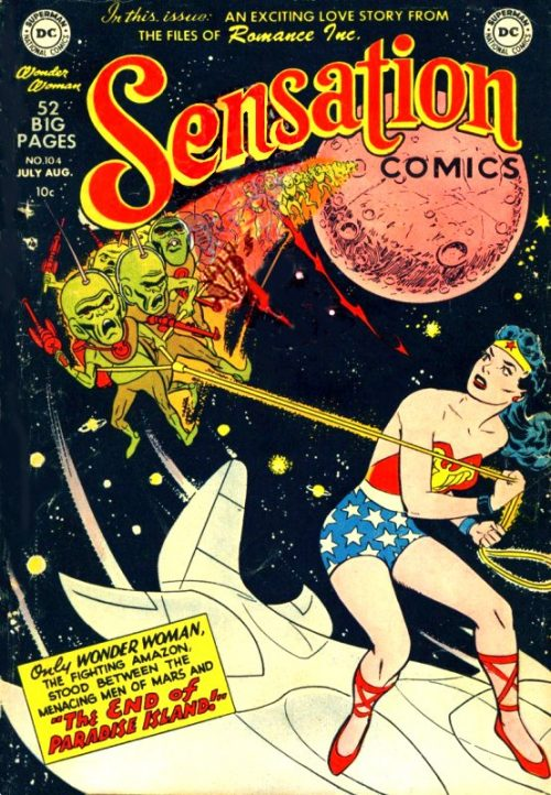 Sensation Comics Volume One issue 104