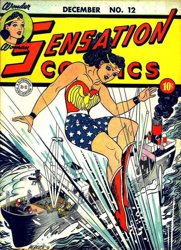 Sensation Comics Volume One Issue 12