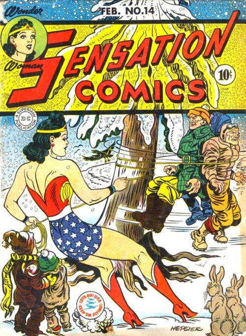 Sensation Comics Volume One issue 14