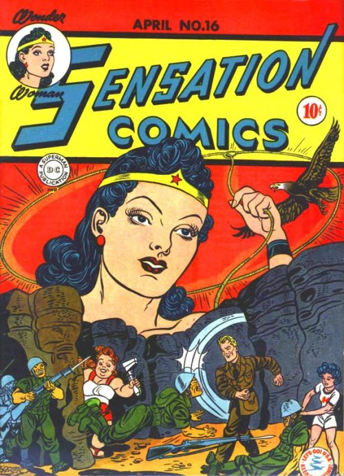 Sensation Comics Volume One Issue 16