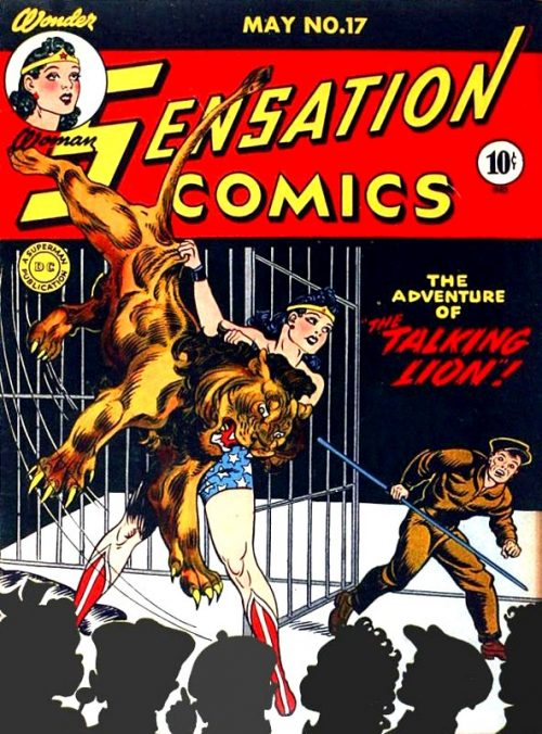 Sensation Comics Volume One Issue 17