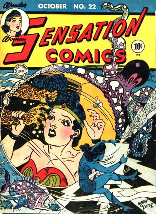 Sensation Comics Volume One Issue 22
