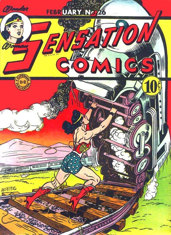 Sensation Comics Volume One Issue 26