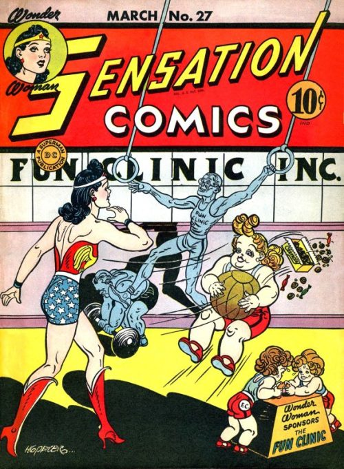 Sensation Comics Volume One Issue 27