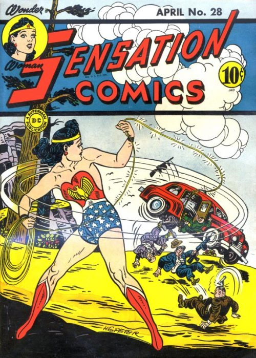 Sensation Comics Volume One Issue 28