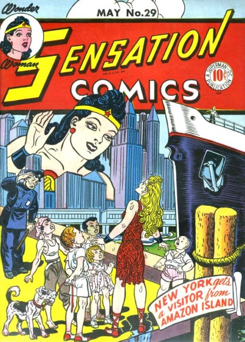 Sensation Comics Volume One Issue 29