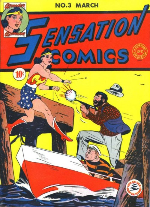 Sensation Comics Volume One issue 1