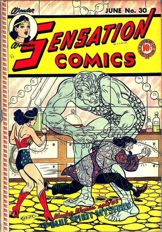 Sensation Comics Volume One Issue 30